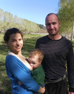 Mariana, Pablo, y Pau