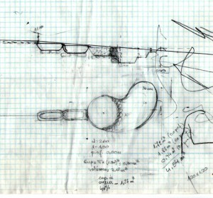 Depuración de Aguas grises- Dibujo lateral (borrador)