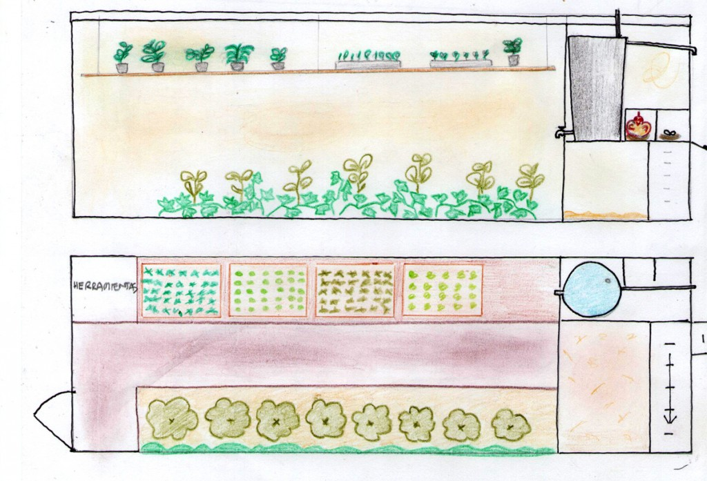 Diseño invernadero Can Pou