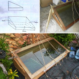 Invernadero - primer diseño Can Pou